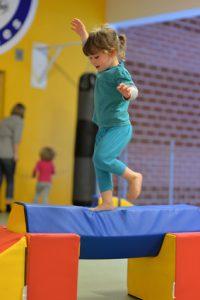Bewegungsspielplatz für Kinder beim VGSU