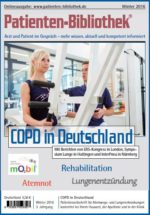 Patientenzeitschrift COPD in Deutschland – Winter 2016